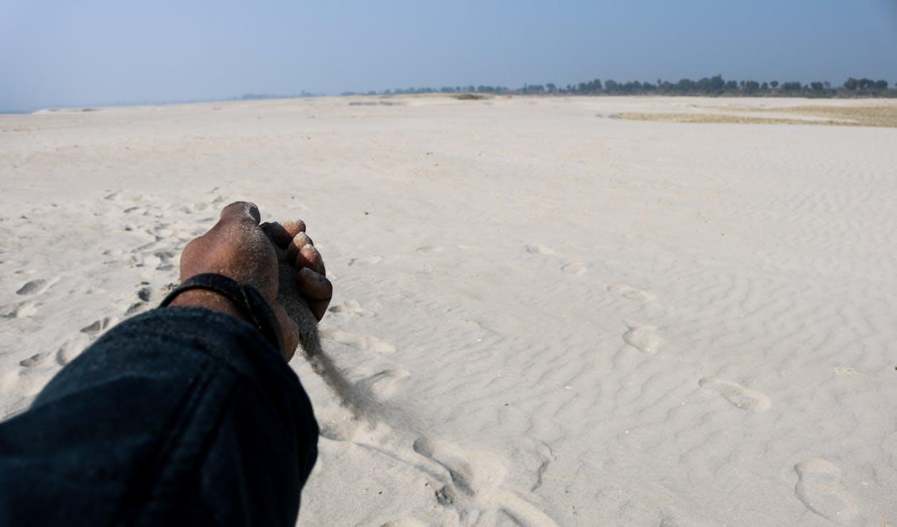겨울, 나이, 모래