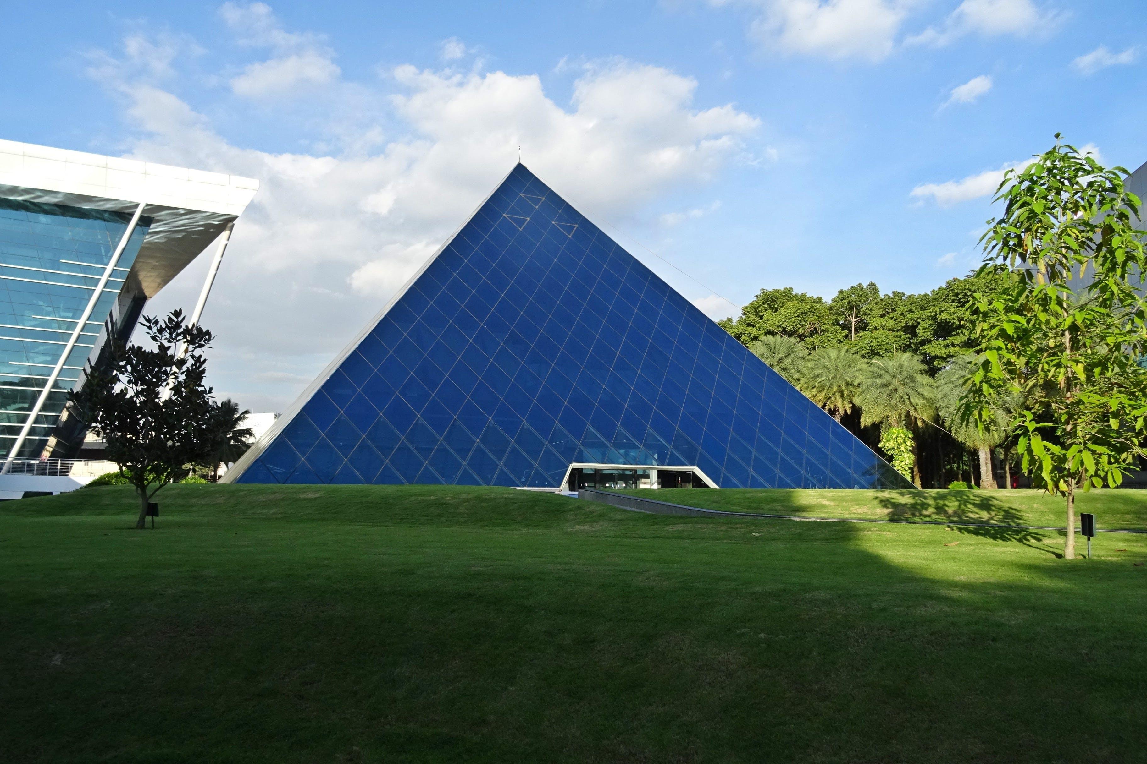 Blue Pyramid Building