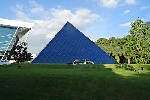 Blue Pyramid Building