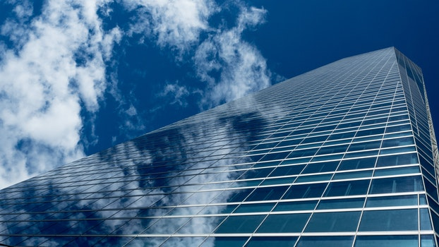 Free stock photo of sky, clouds, building, glass
