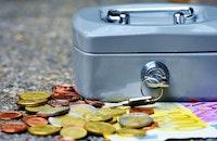 money, coins, bank notes