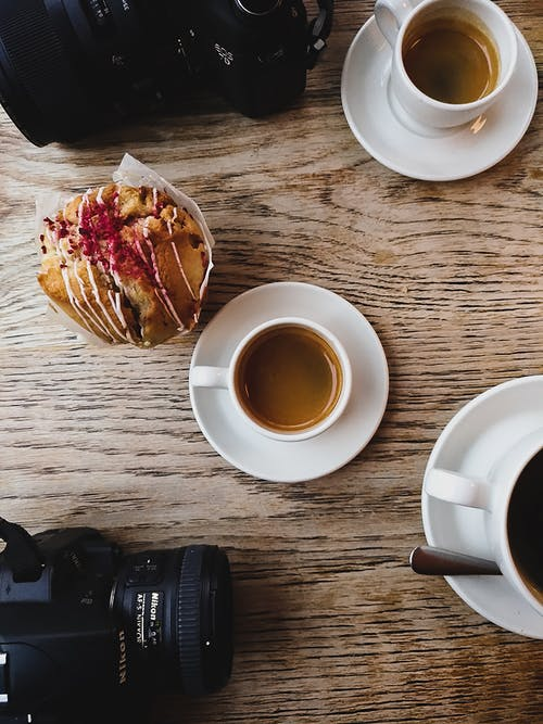 Free stock photo of bar cafe, camera, coffee