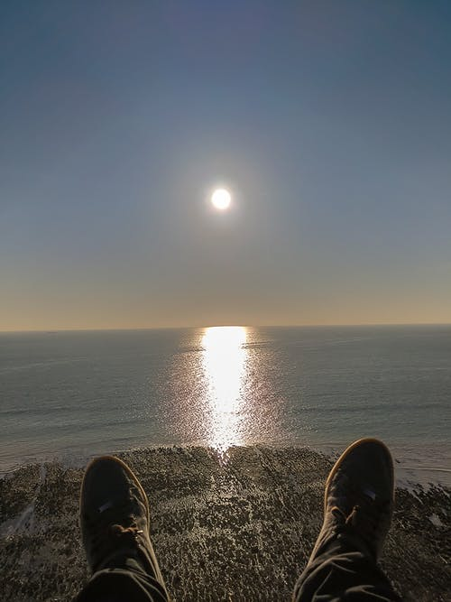 Kostnadsfri bild av solnedgång, solnedgångstranden