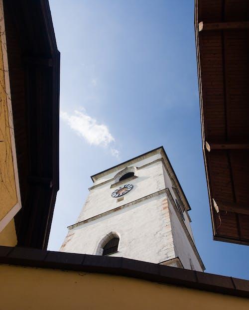 Ảnh lưu trữ miễn phí về Tháp, Tòa nhà, trời xanh, tương phản