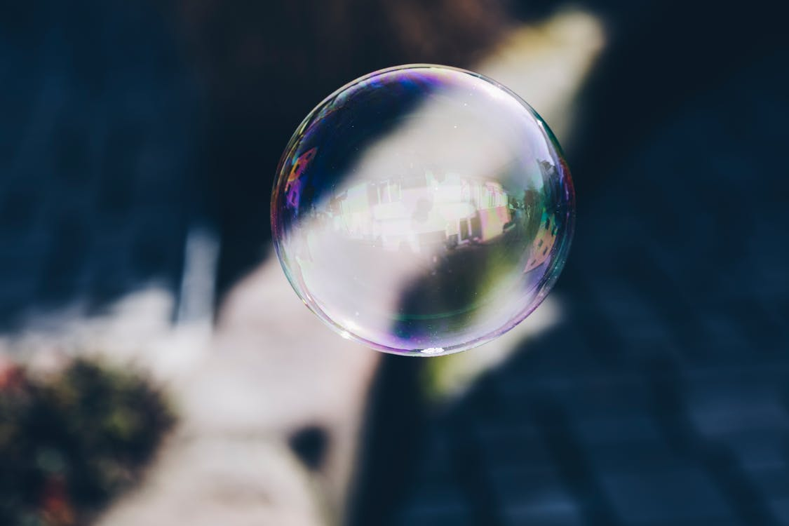 ball-shaped, blur, bubble