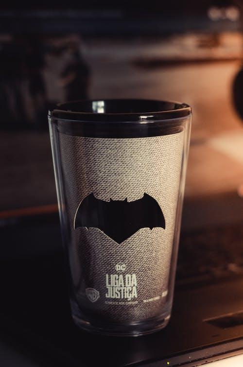 Gray and Black Batman Tumbler