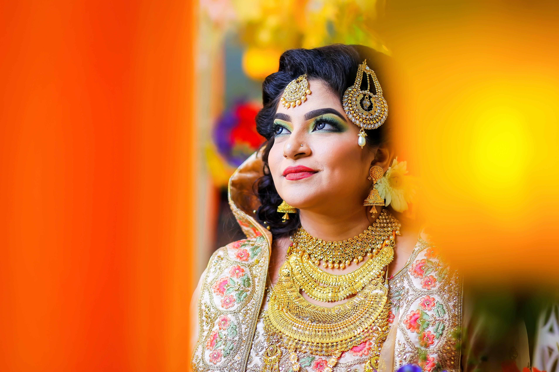Základová fotografie zdarma na téma atraktivní, bangladéš, červená, dáma