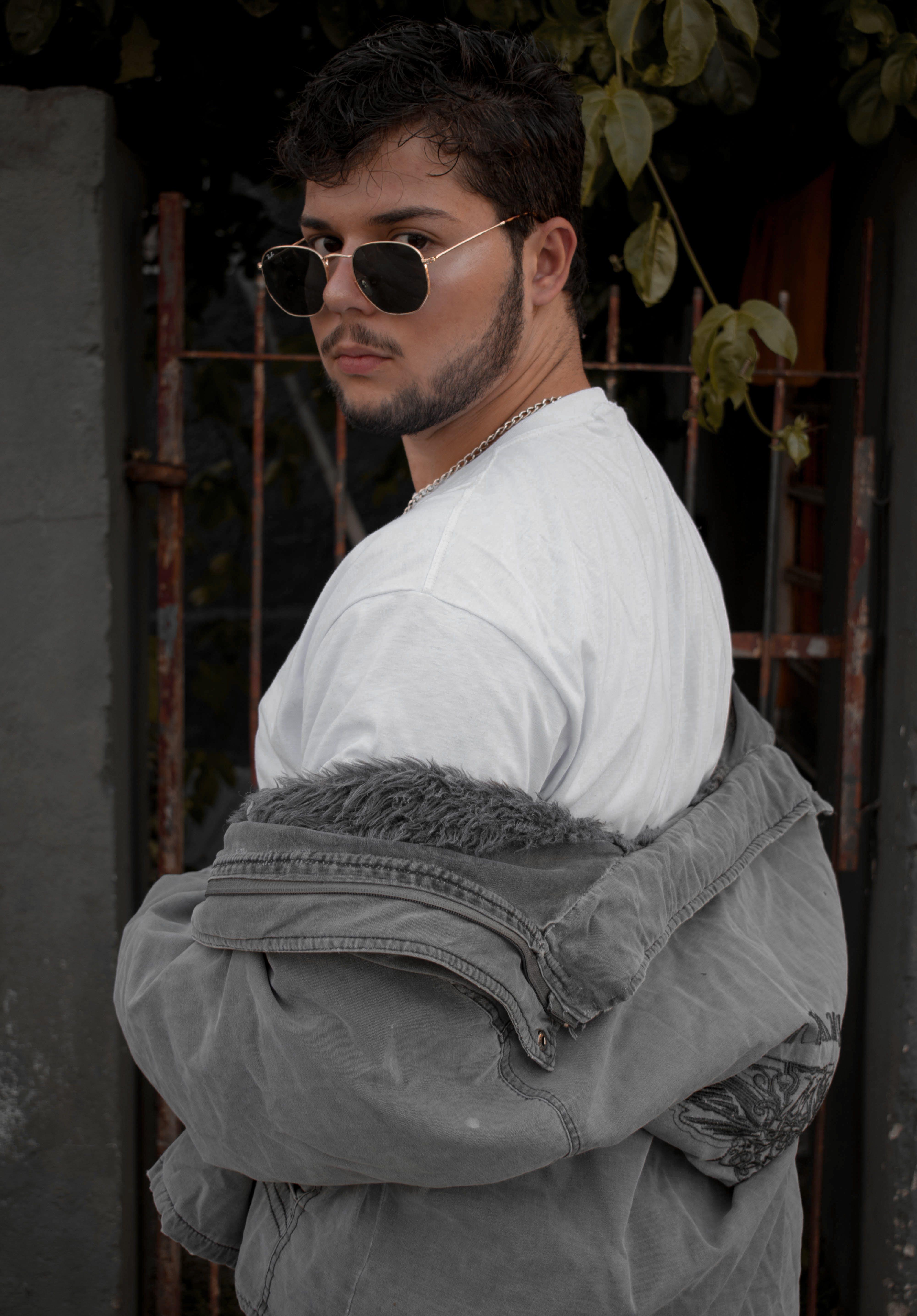 Free stock photo of 20-25 years old man, alfresco, big, brunette