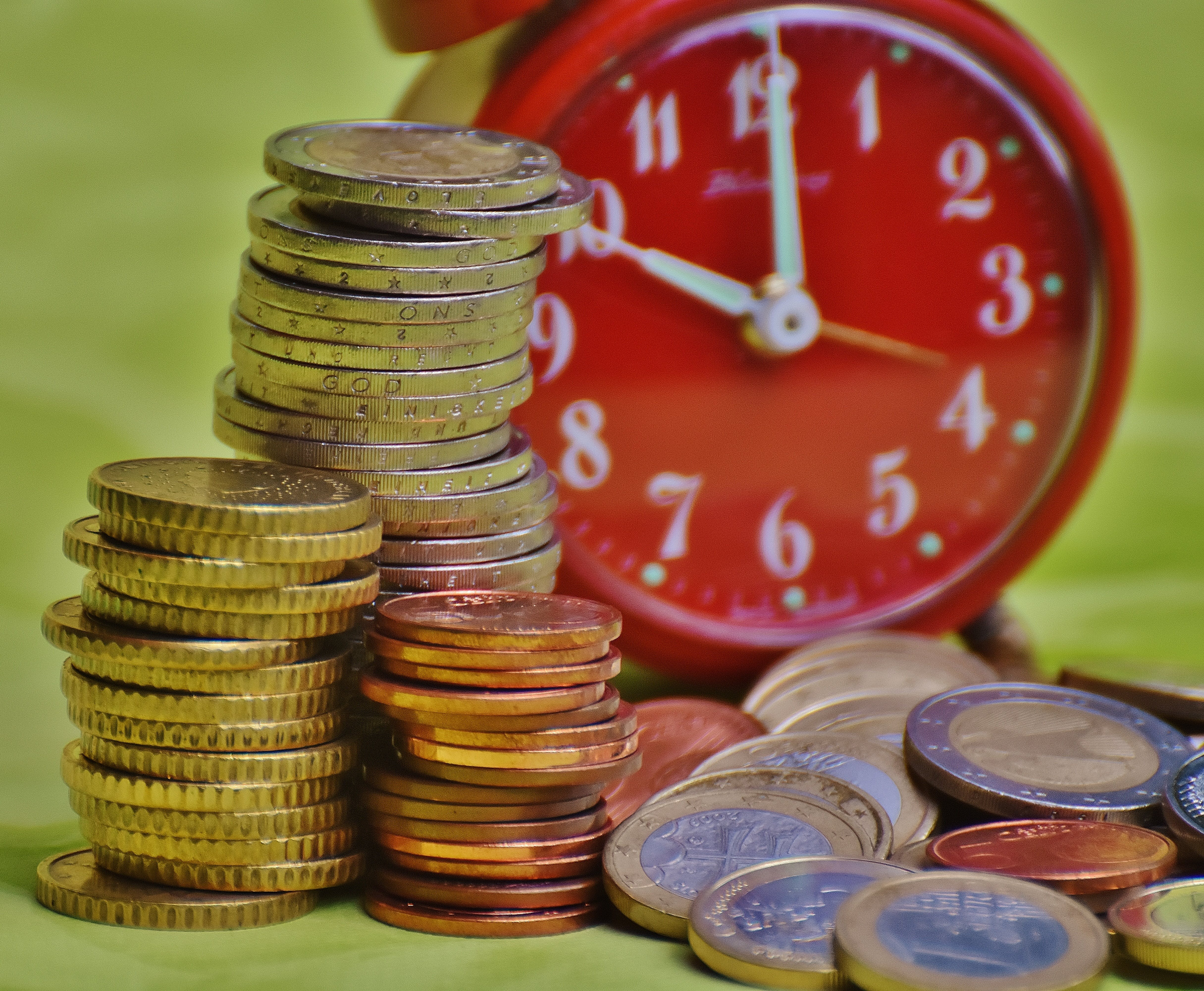 Free stock photo of money, coins, finance, currency