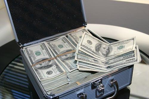 Základová fotografie zdarma na téma bankovky, bohatství, dolary, hotovost
