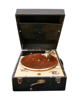 Free stock photo of music, old, antique, record player