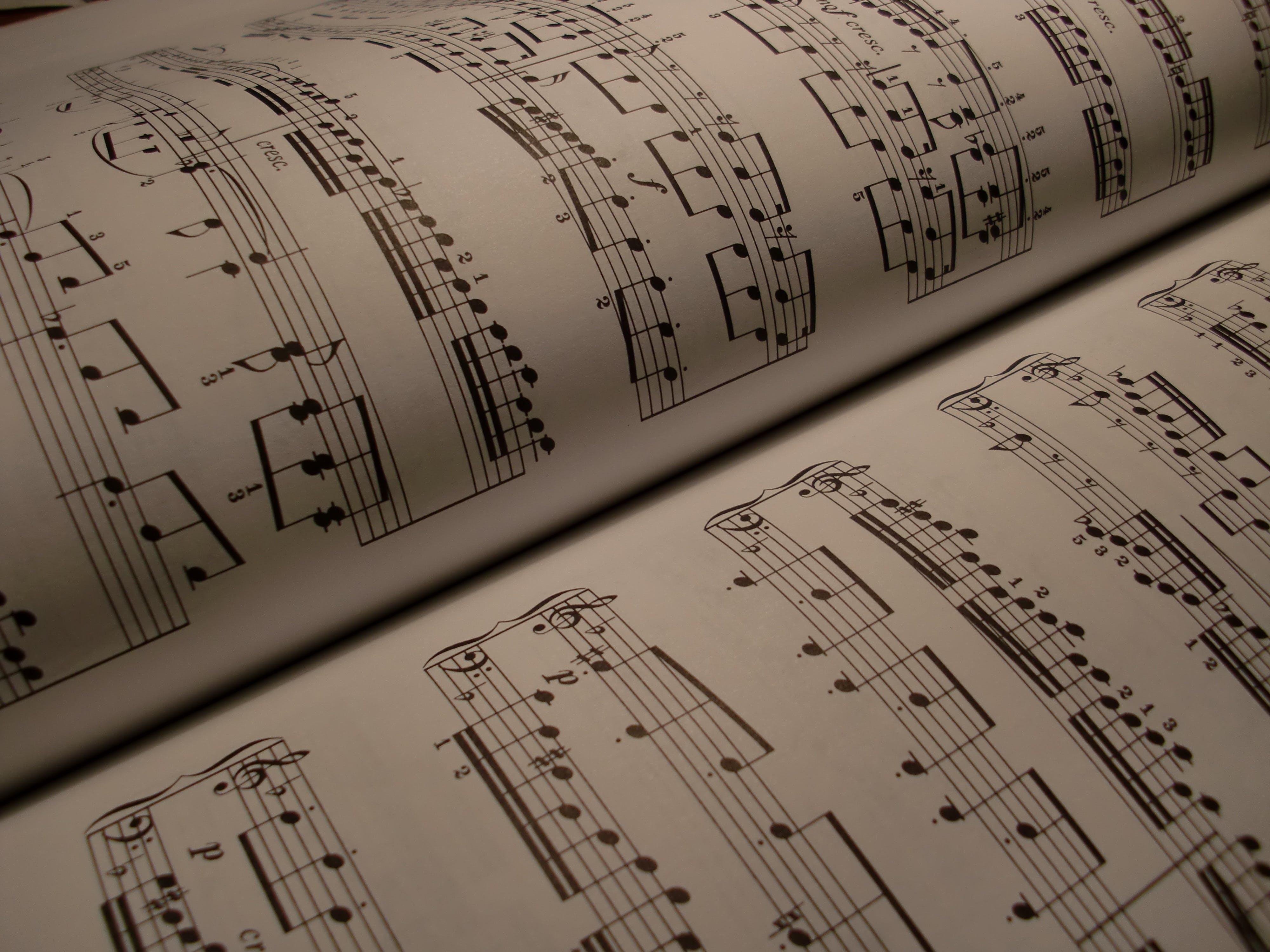 Music Sheet Page