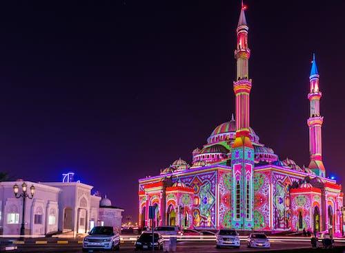 UAE, 거룩한, 건축, 경치의 무료 스톡 사진