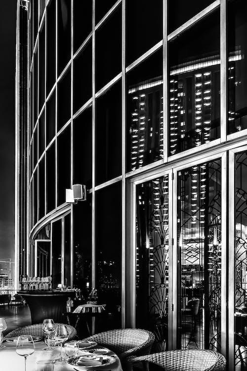 UAE, 가벼운, 건축, 검은색의 무료 스톡 사진