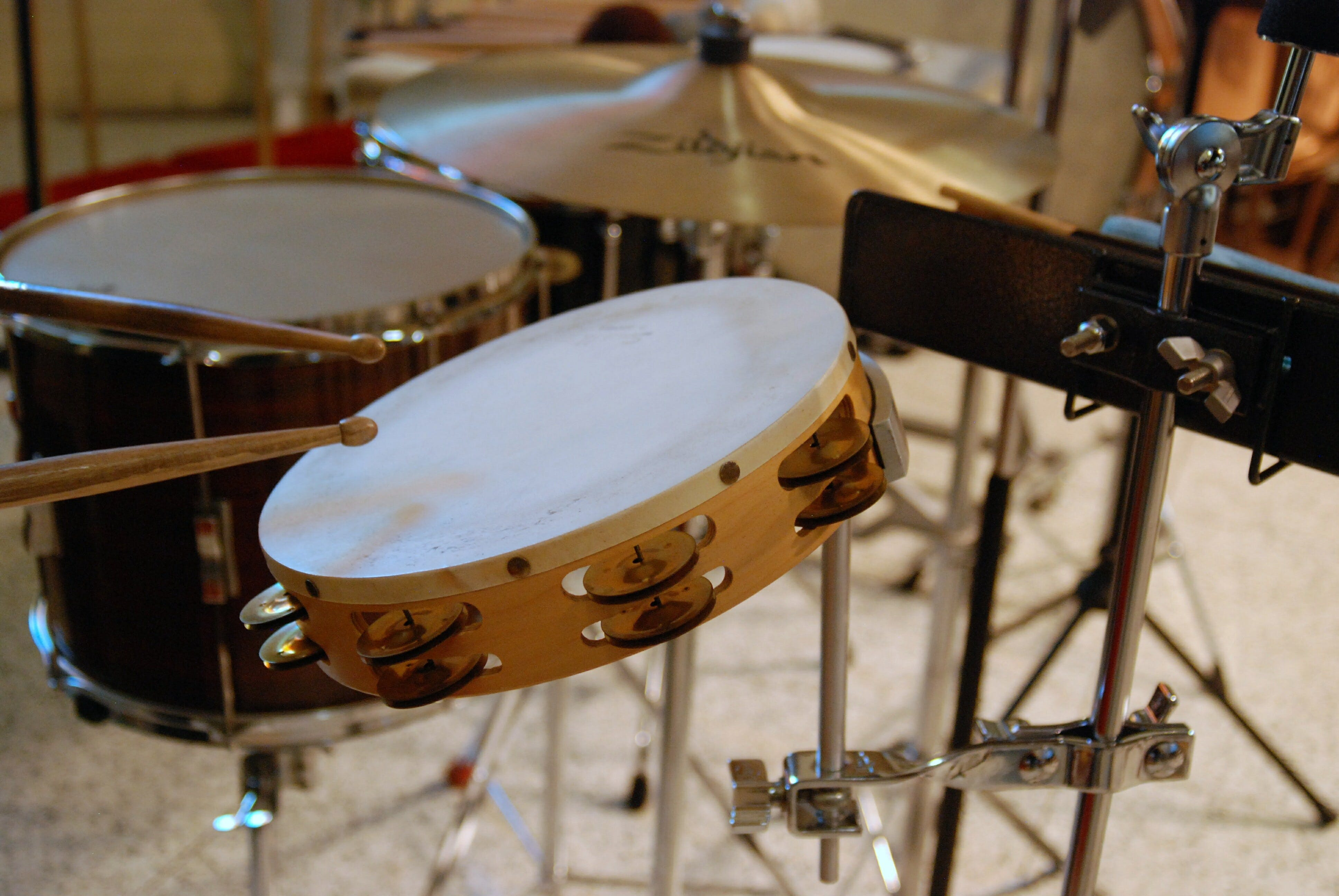 Free stock photo of music, equipment, cymbal, percussion
