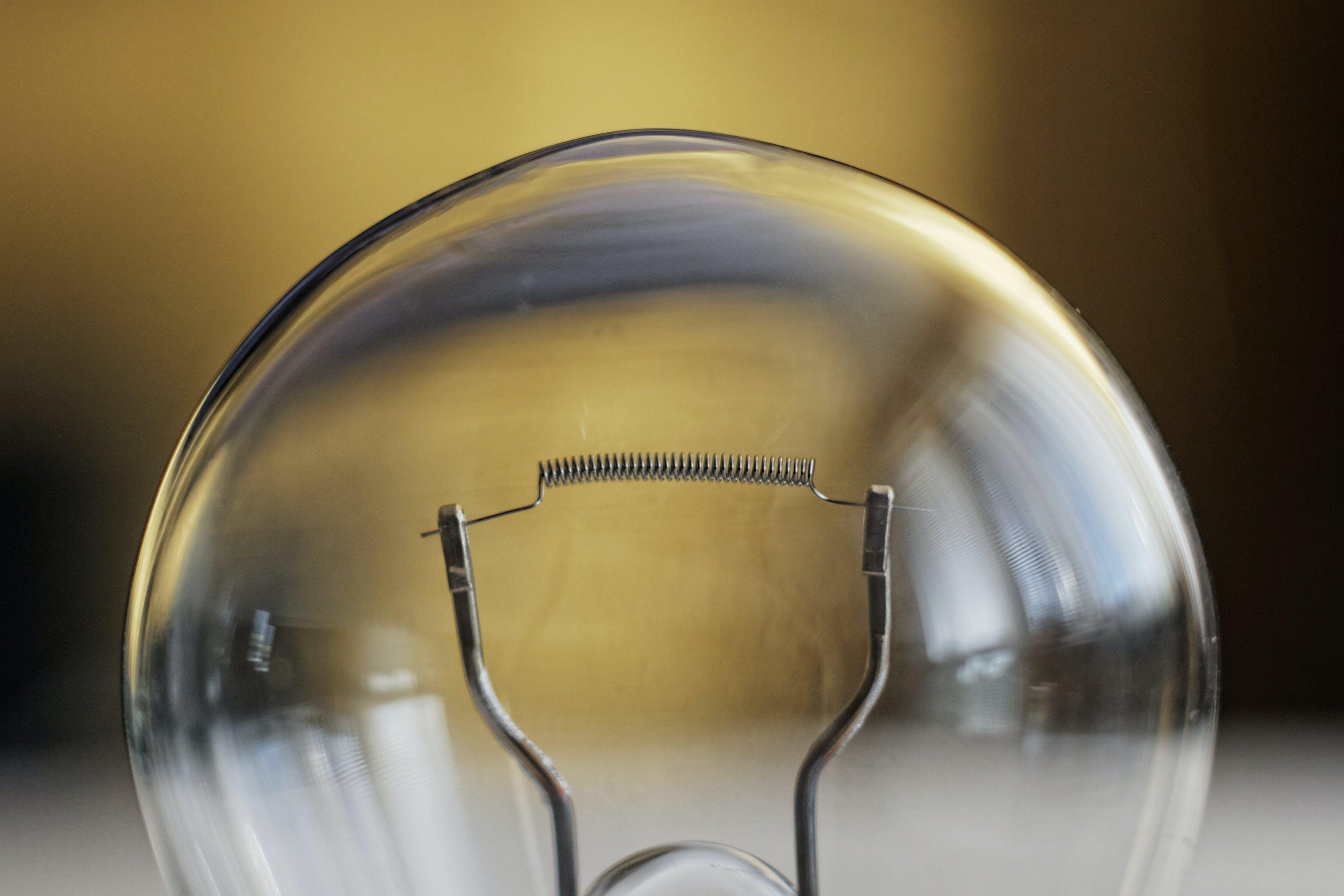 Free stock photo of light, bulb, filament
