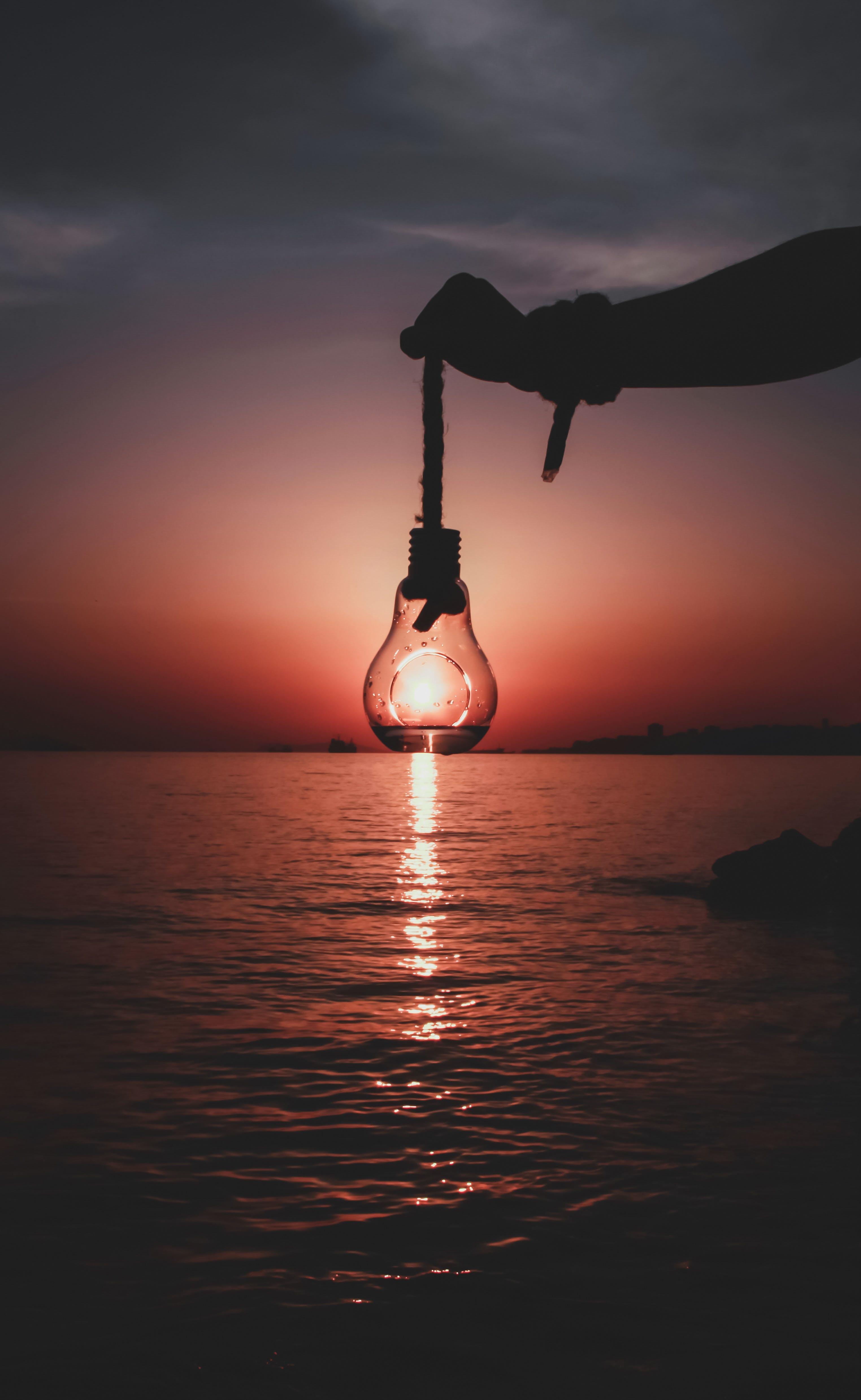 Foto profissional grátis de água, alvorecer, ao ar livre, cair da noite