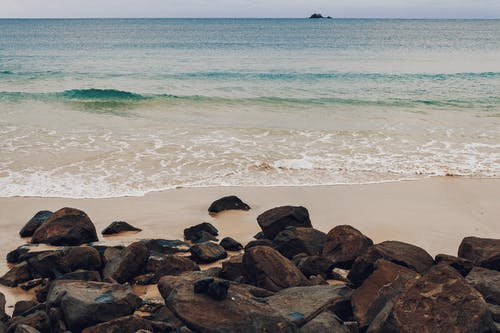 Free stock photo of beach, island, waves