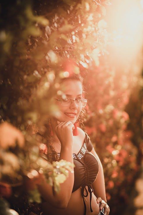 ao ar livre, atraente, beleza