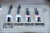 technology, blur, music