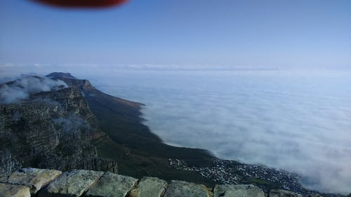 Free stock photo of cape town, clouds, fog