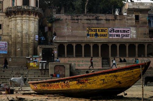 Kostnadsfri bild av banaras, båt, båtdäck, båthus