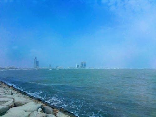 Photos gratuites de bâtiments, bleu, caillou, ciel