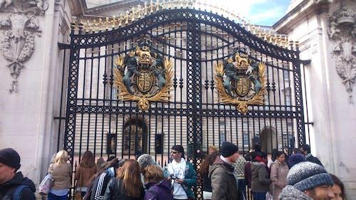 Free stock photo of buckingham palace, england, gates