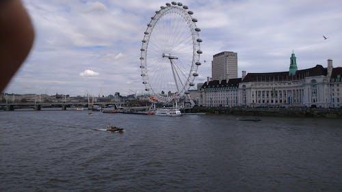 Free stock photo of london, london eye