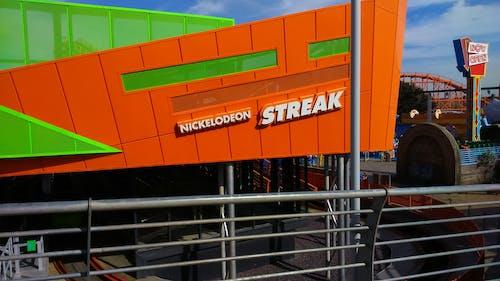 Free stock photo of green, nickelodeon, orange