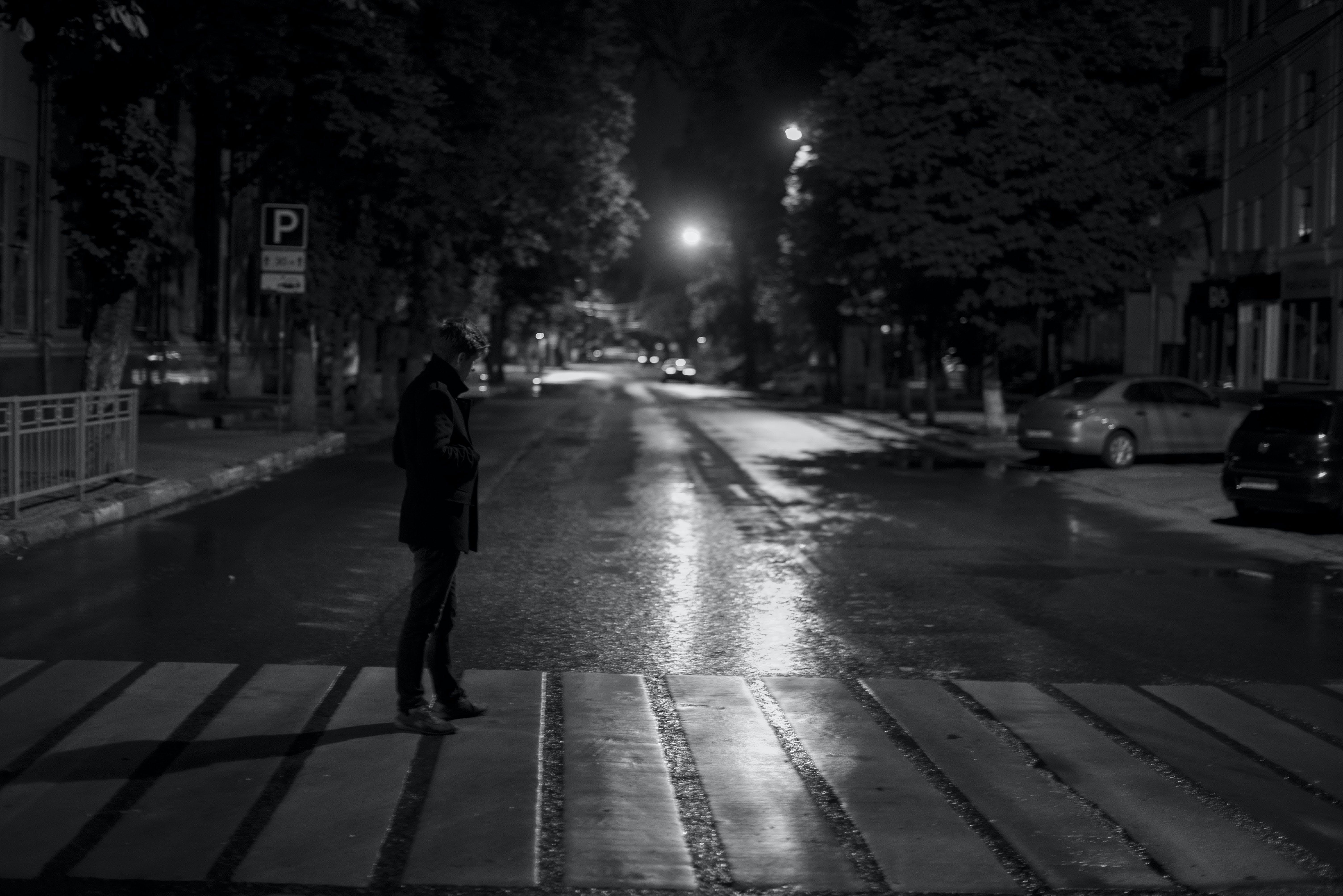 交通系統, 人, 人行道, 光 的