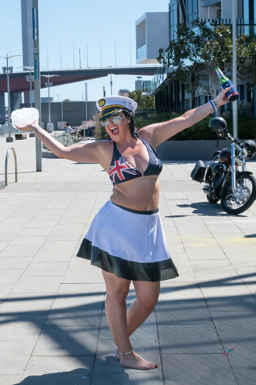 Free stock photo of australia day, beautiful woman, beer bottle, docklands