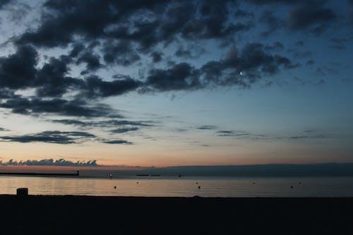 Foto profissional grátis de #natureza, à beira-mar, atraente, azul
