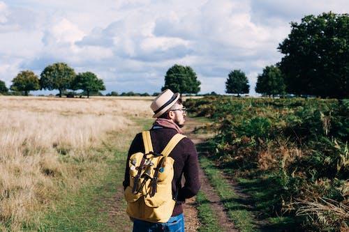 Základová fotografie zdarma na téma chůze, dospělý, hřiště, krajina