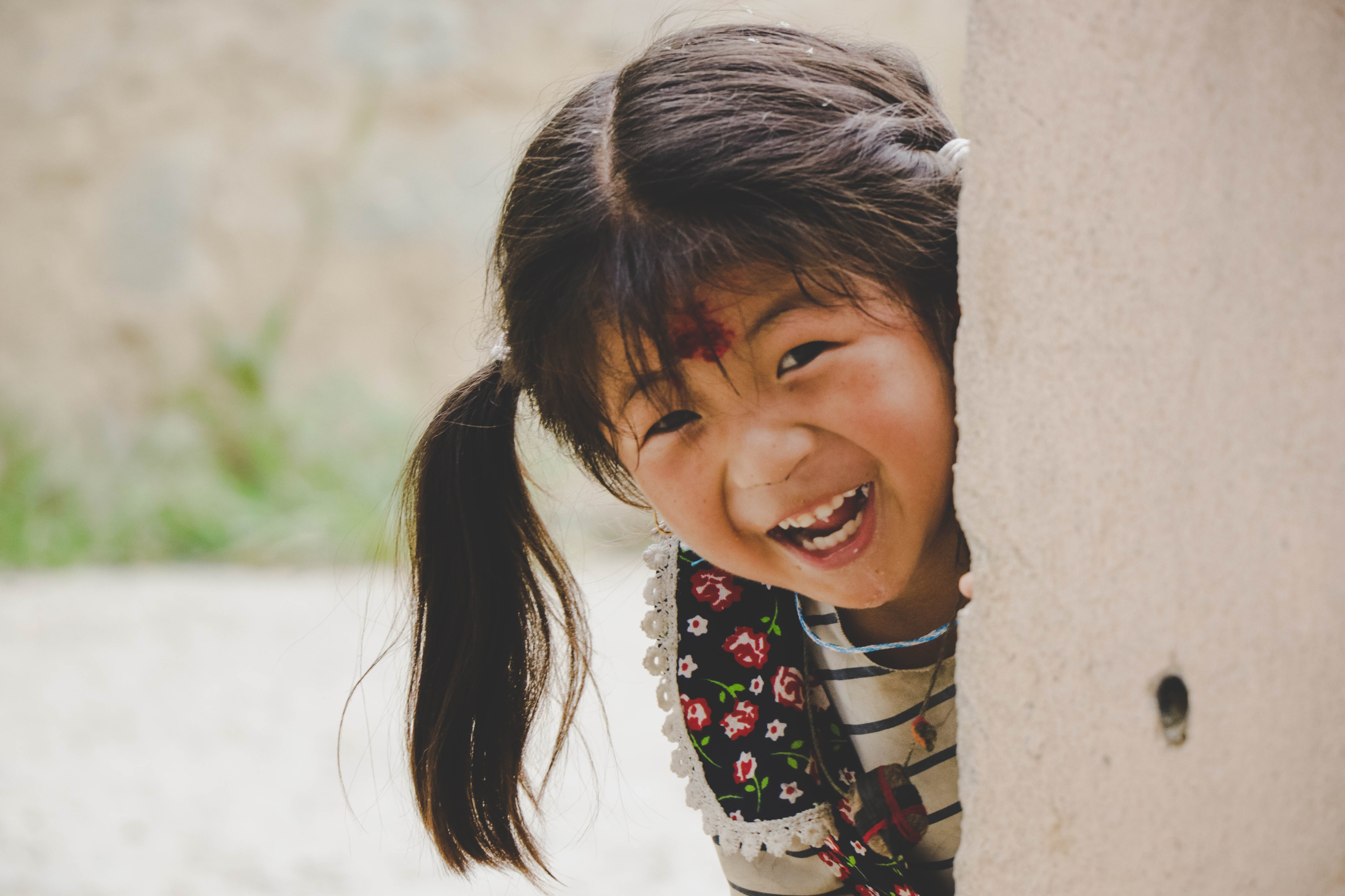 Free stock photo of girl, kid, laugh, photography
