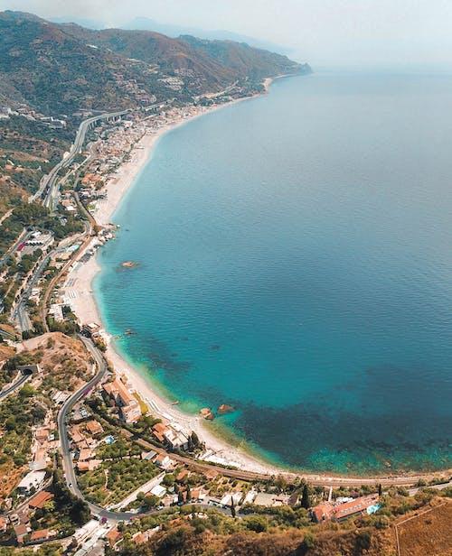 Imagine de stoc gratuită din apă, coastă, faleză, fotografie cu drona