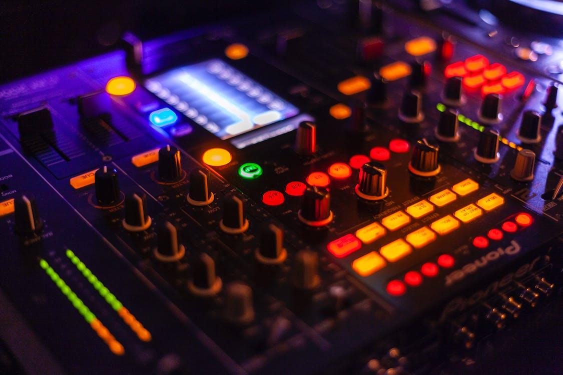 amplificador, electrónica, equipo