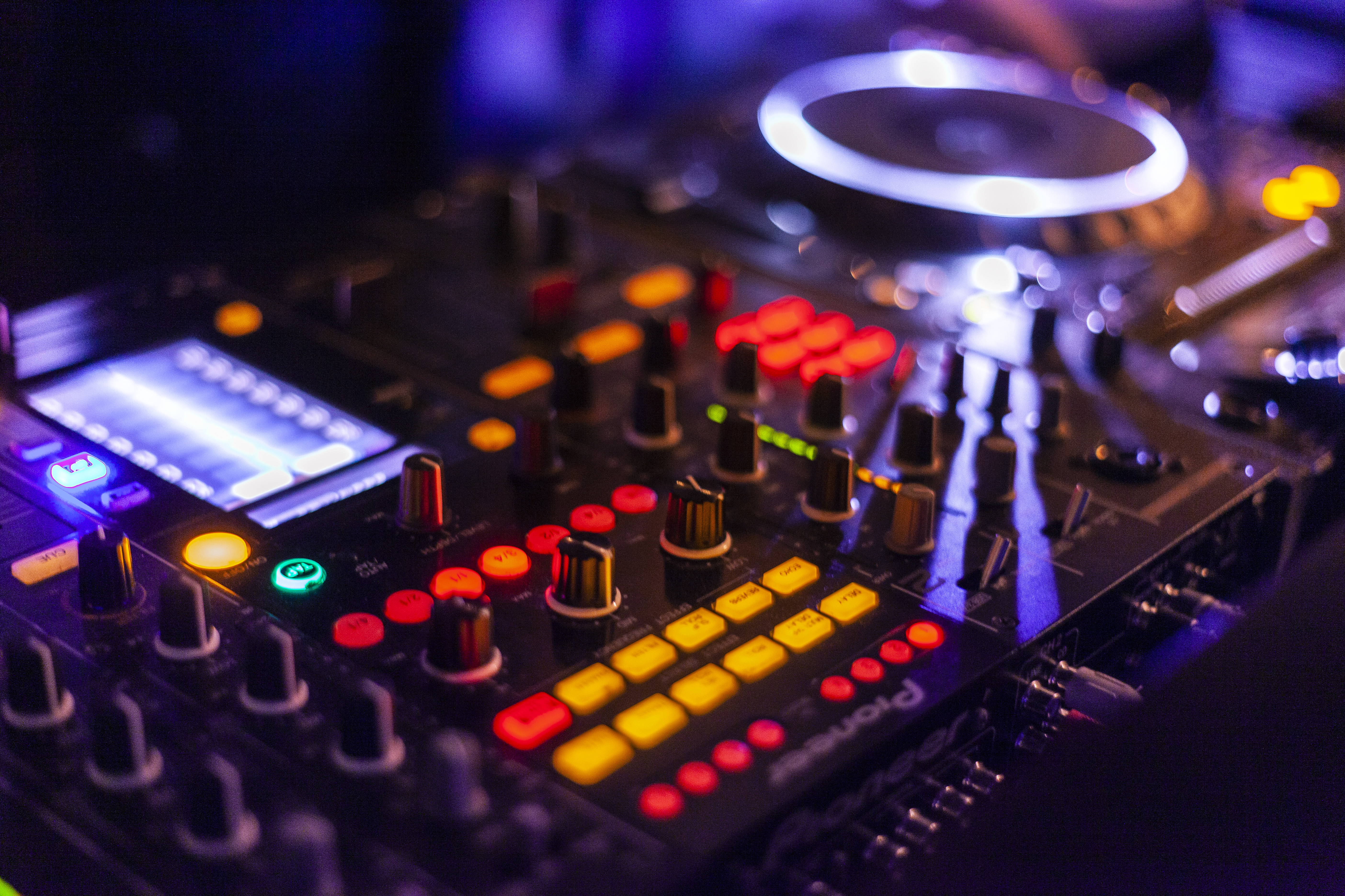 Lighted Dj Controller