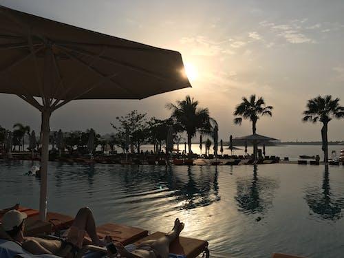 Free stock photo of sunbathing, sunset, sunset beach
