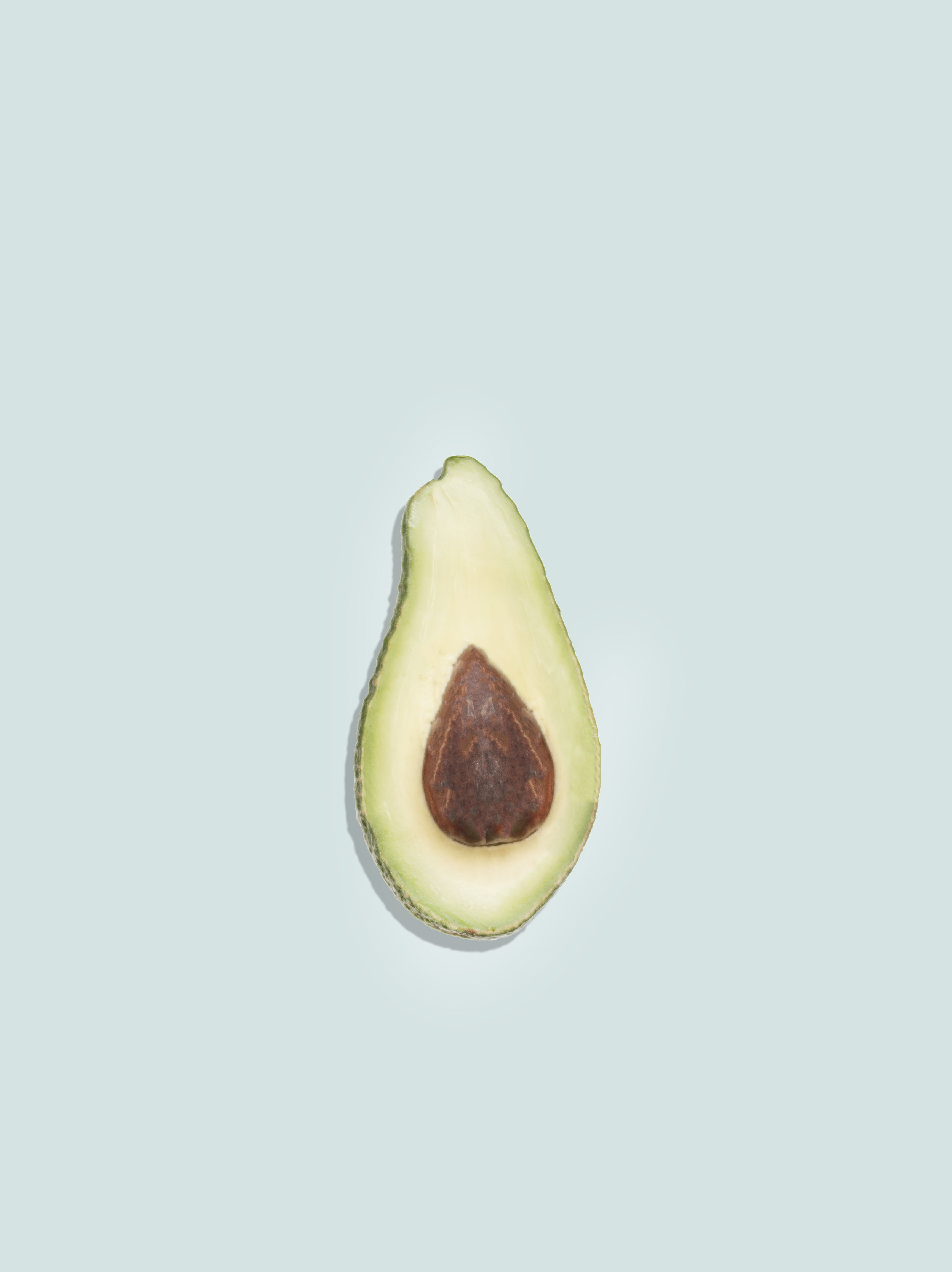 Top View Photo of Sliced Avocado