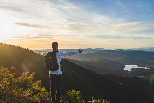 adam, dağ, dinlenme, doğa içeren Ücretsiz stok fotoğraf