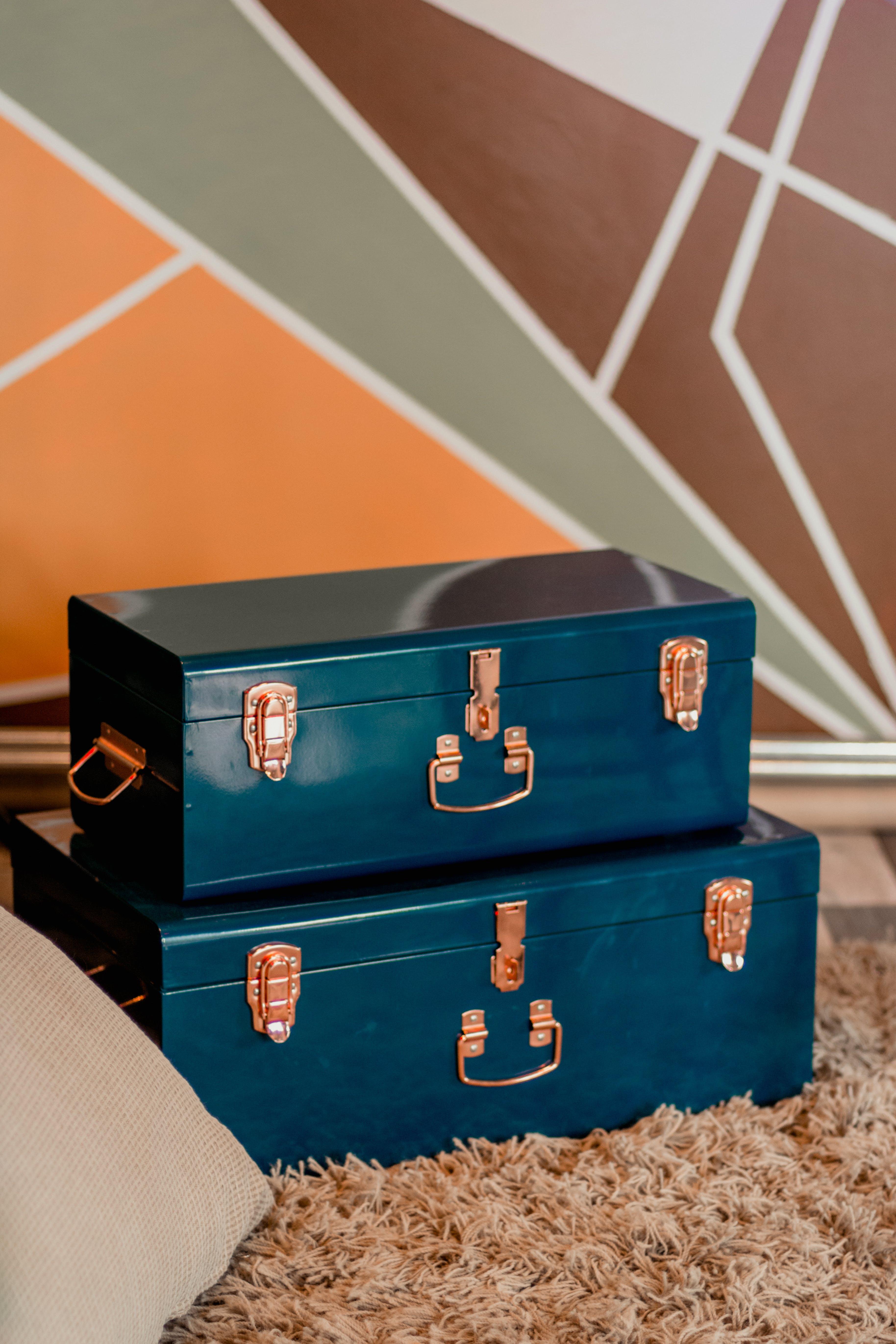 Δωρεάν στοκ φωτογραφιών με vintage, αποθήκευση, αποσκευές, βαλίτσα