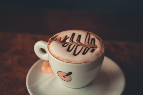 Δωρεάν στοκ φωτογραφιών με latte art, γευστικός, γκρο πλαν, εστιάζω