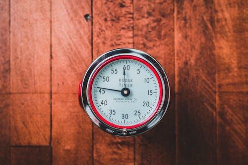 Immagine gratuita di allarme, colori, orologio, rosso