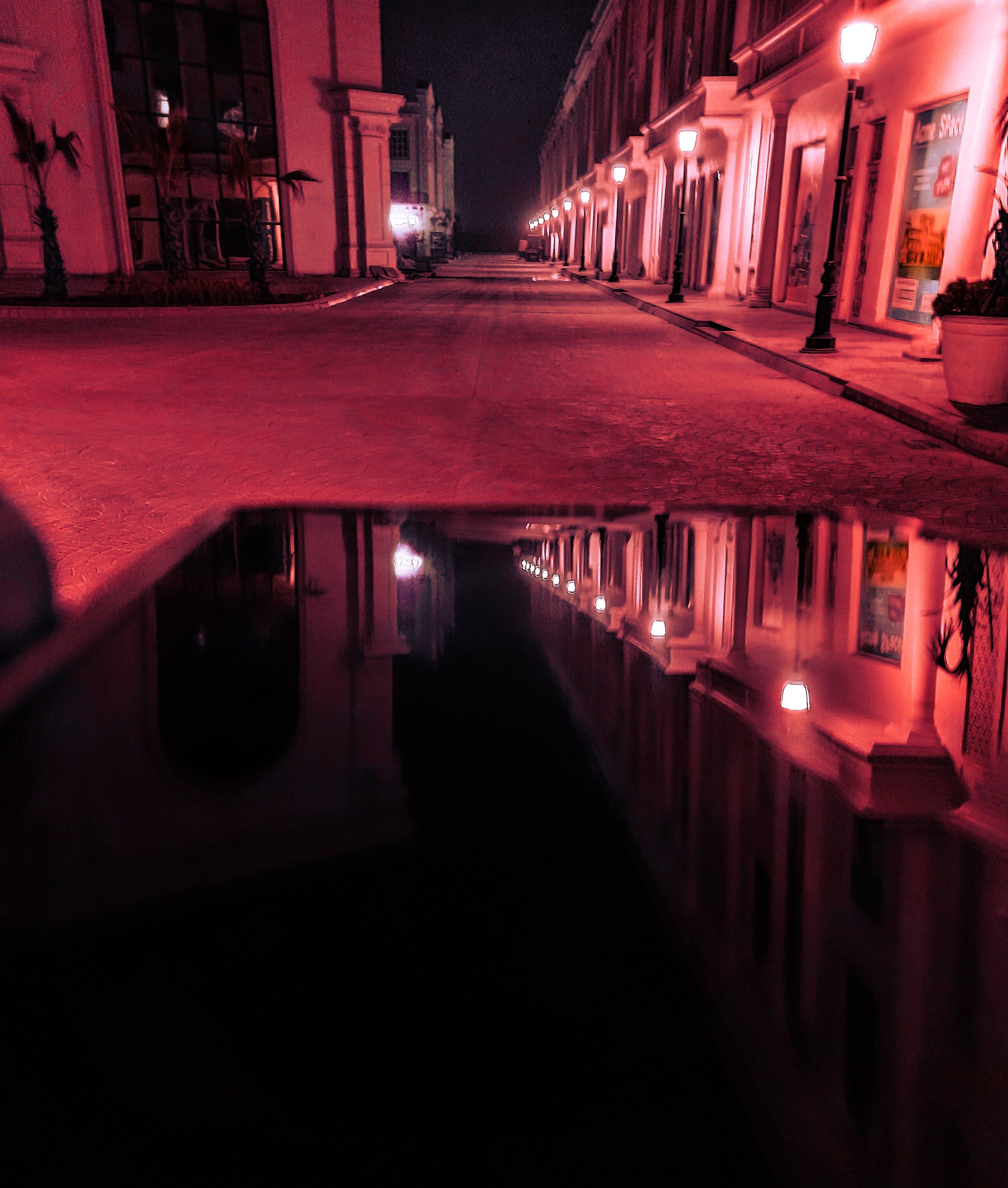 Základová fotografie zdarma na téma HD tapeta, náladový, noc, odraz