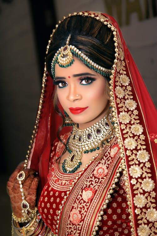 Immagine gratuita di abbigliamento tradizionale, bella sposa, donna, donna asiatica