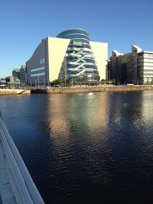 Free stock photo of dublin, reflection, reflections, water