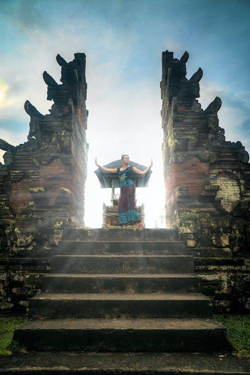 Foto profissional grátis de Arquitetura asiática, bali, balinês, destino de viagem