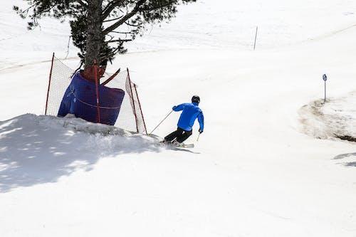 Foto stok gratis bermain ski, main ski, olahraga ekstrem, pegunungan
