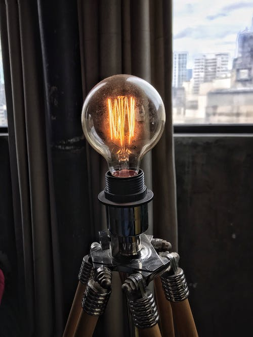 Selective Focus Photography of Lit Bulb